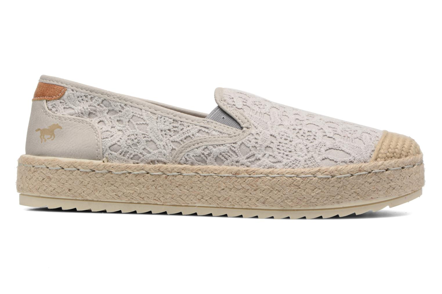Espadrilles Mustang shoes Liese Grey back view