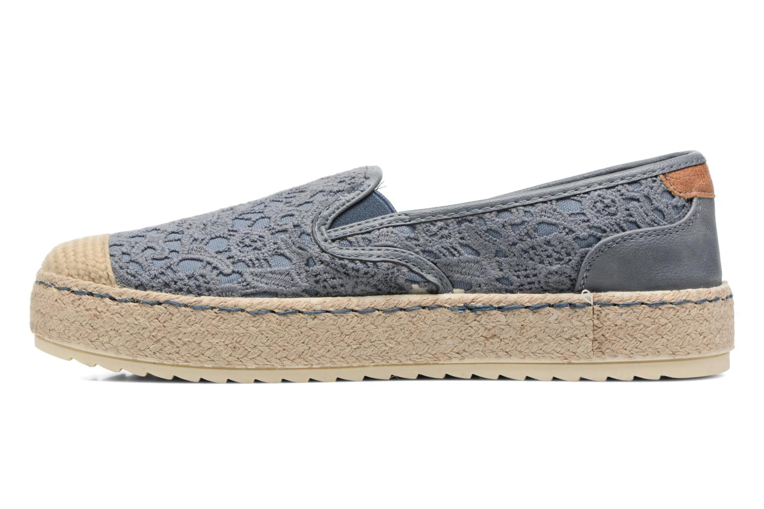 Espadrilles Mustang shoes Liese Blue front view