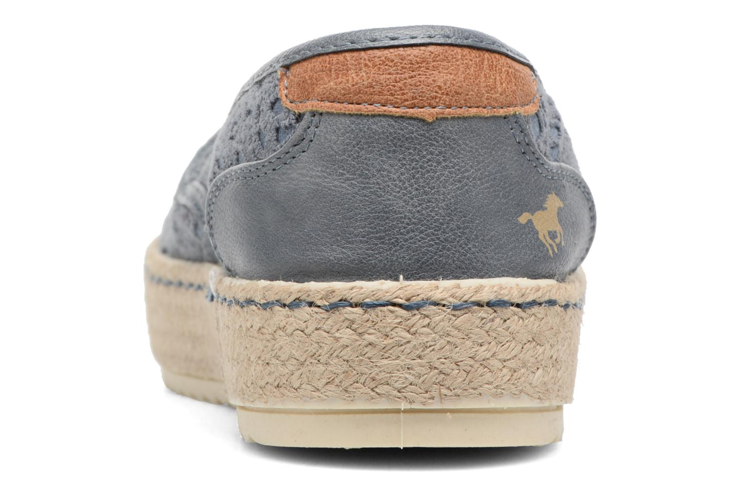 Espadrilles Mustang shoes Liese Blue view from the right