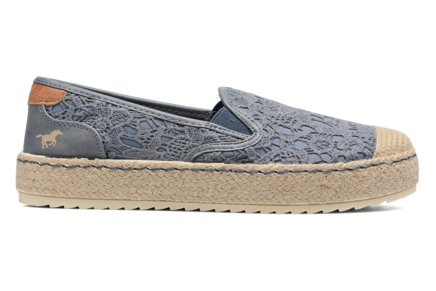 Espadrilles Mustang shoes Liese Blue back view