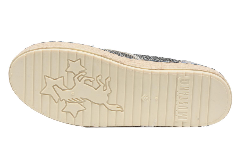 Espadrilles Mustang shoes Silke grau ansicht von oben