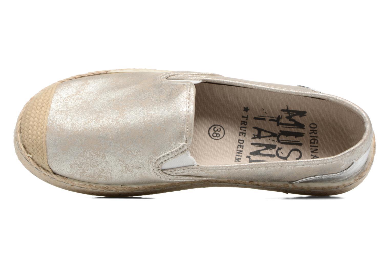 Scarpe di corda Mustang shoes Kathe Oro e bronzo immagine sinistra