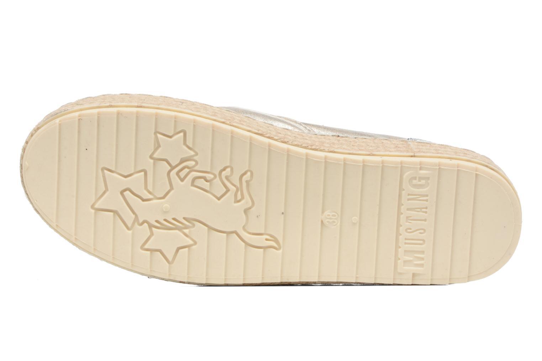 Scarpe di corda Mustang shoes Kathe Oro e bronzo immagine dall'alto