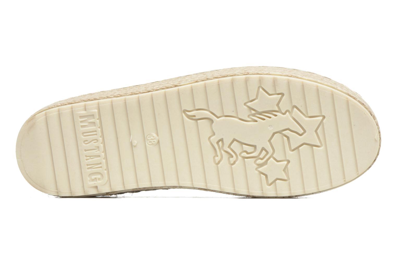 Espadrilles Mustang shoes Kathe Zilver boven