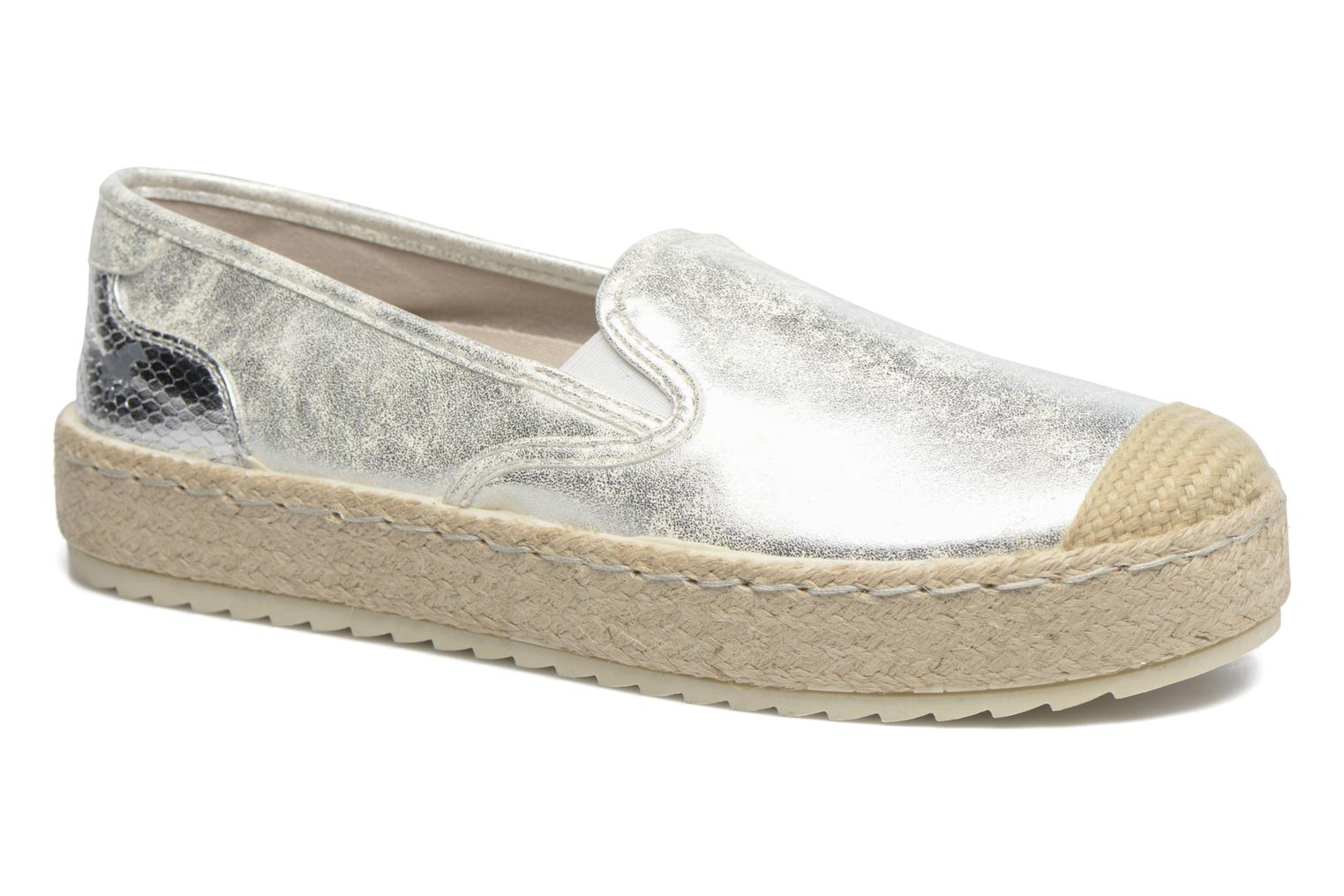 Espadrilles Mustang shoes Kathe Silver detailed view/ Pair view