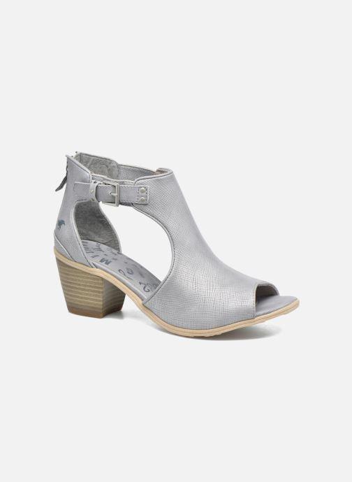 Bottines et boots Mustang shoes Theda Gris vue détail/paire