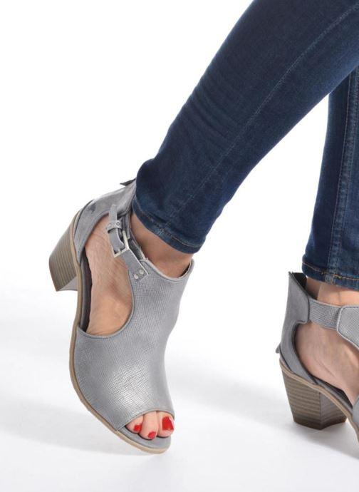 Stivaletti e tronchetti Mustang shoes Theda Argento immagine dal basso