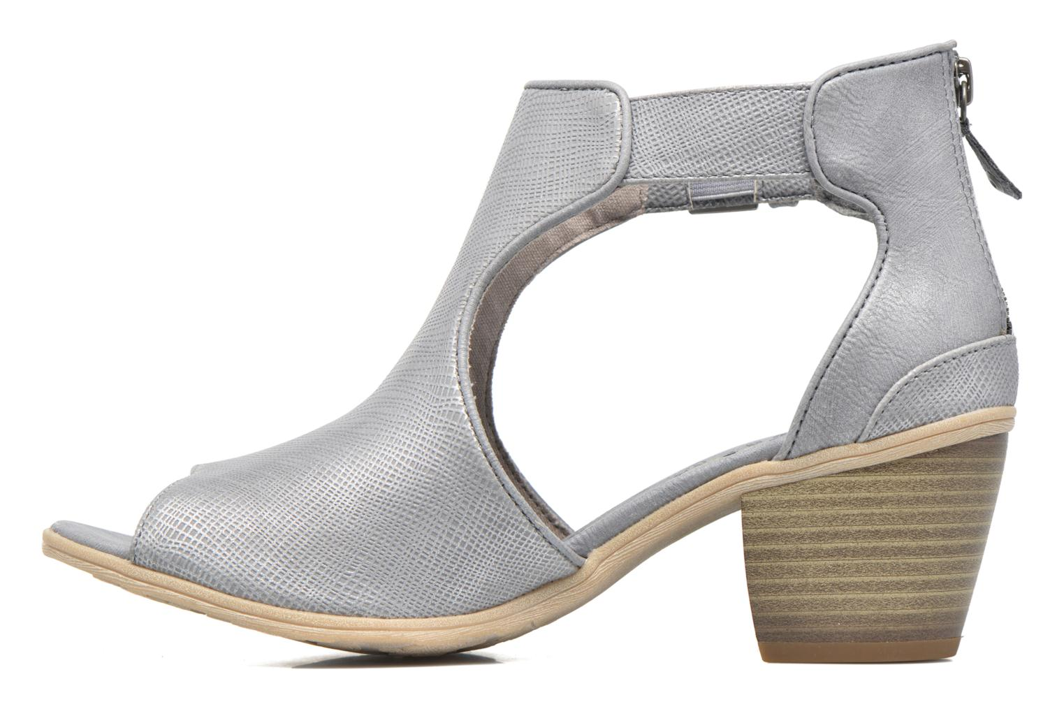 Ankle boots Mustang shoes Theda Grey front view