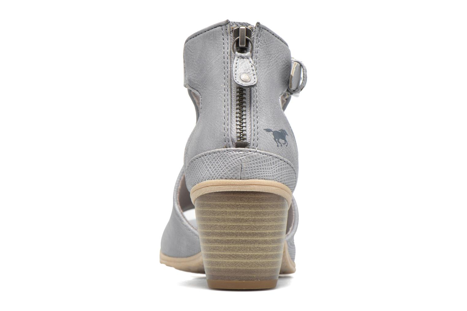 Ankle boots Mustang shoes Theda Grey view from the right