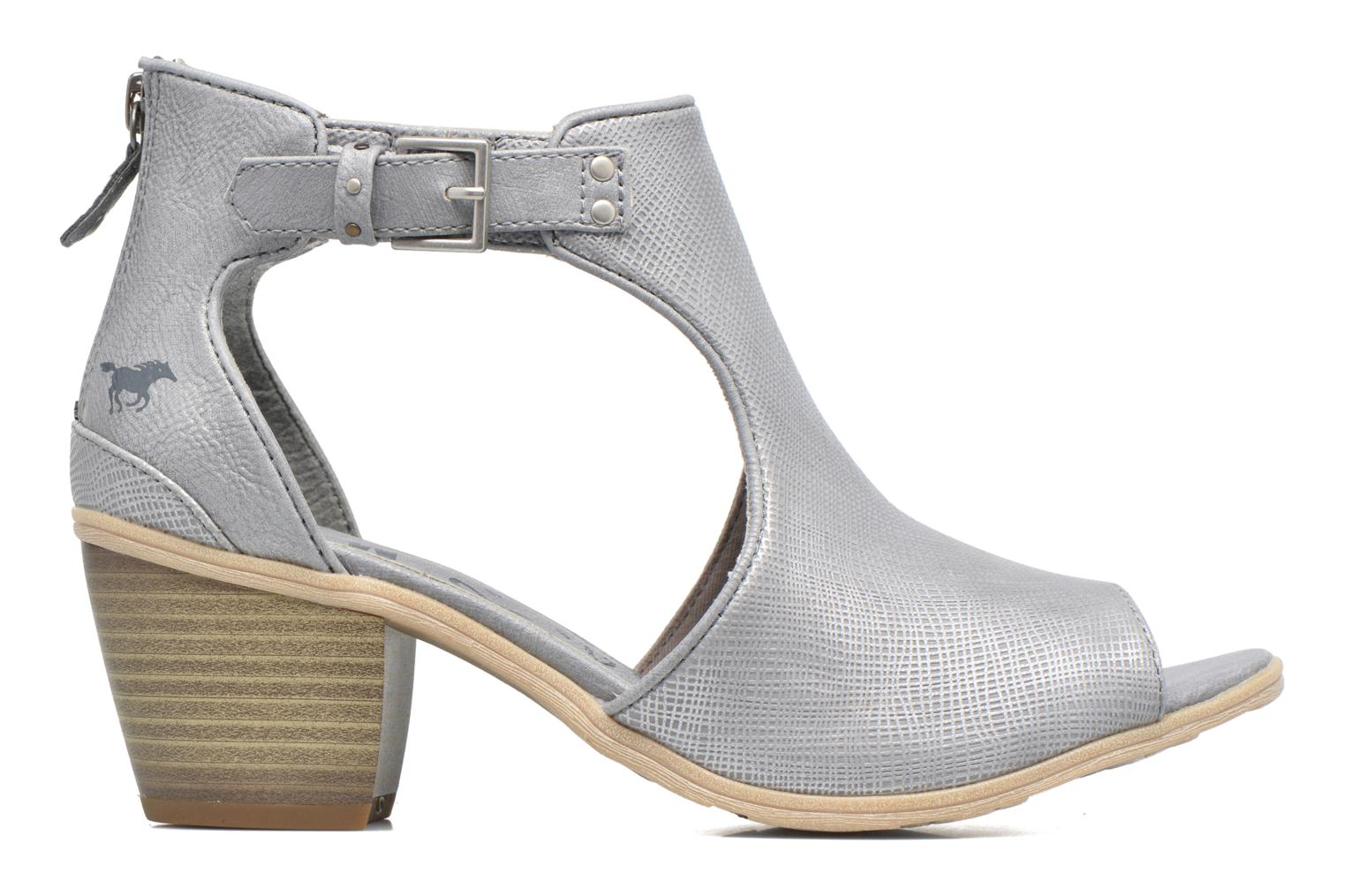 Ankle boots Mustang shoes Theda Grey back view