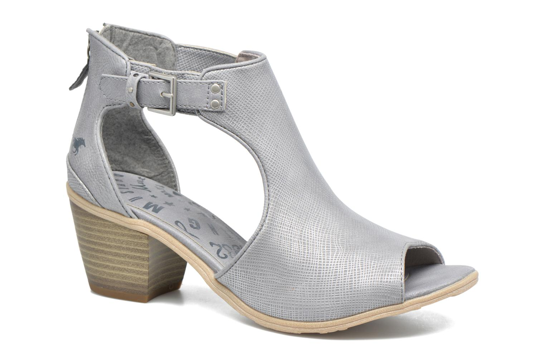 Boots en enkellaarsjes Mustang shoes Theda Grijs detail