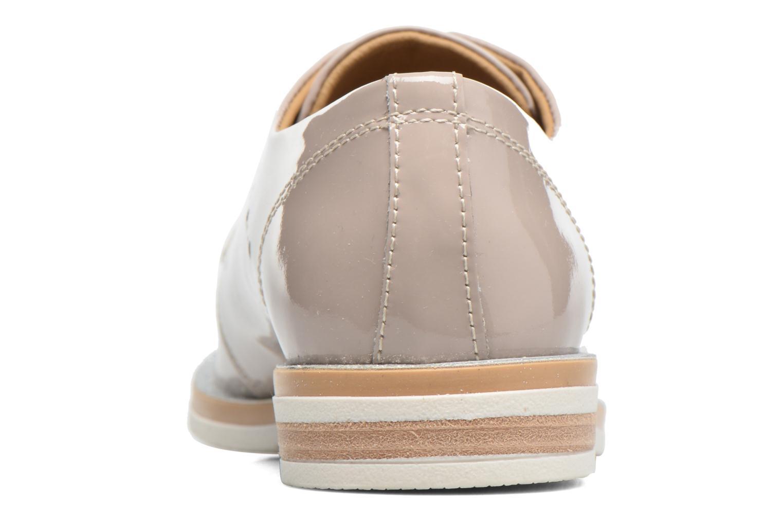 Chaussures à lacets Georgia Rose Maglit Beige vue droite