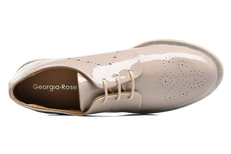 Chaussures à lacets Georgia Rose Maglit Beige vue gauche