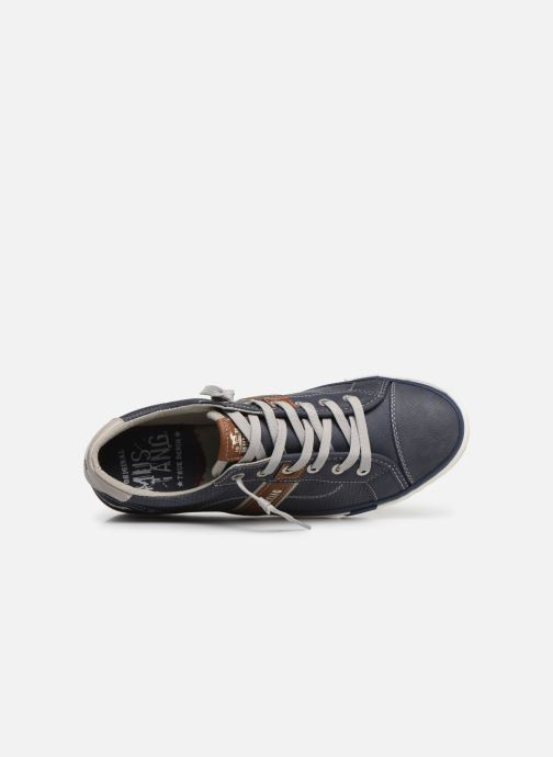 Baskets Mustang shoes Ralf Bleu vue gauche