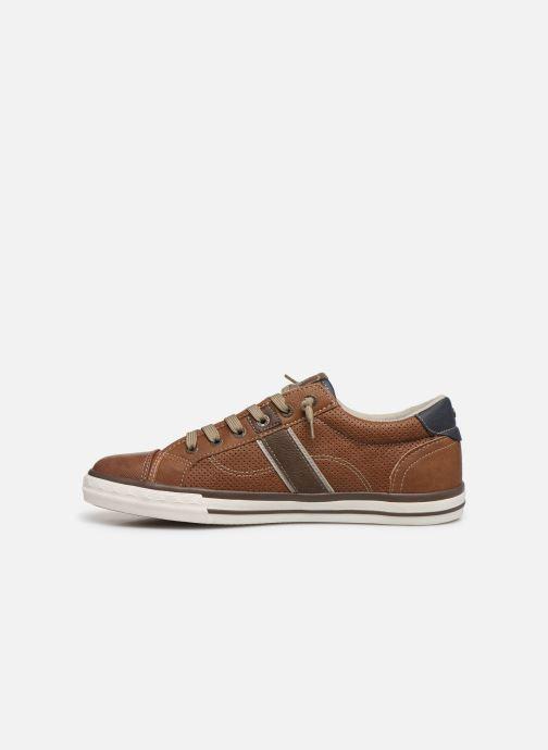 Baskets Mustang shoes Ralf Marron vue face
