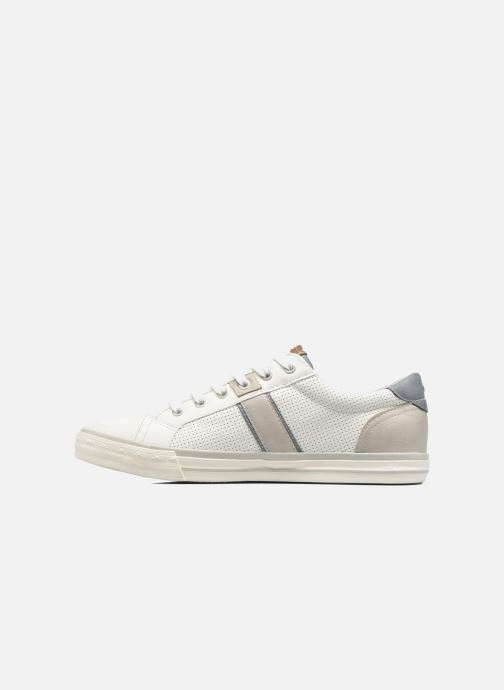 Baskets Mustang shoes Ralf Blanc vue face