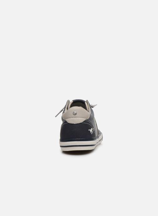 Baskets Mustang shoes Ralf Bleu vue droite