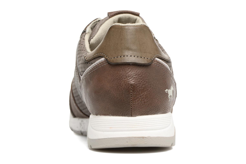 Baskets Mustang shoes Klaus Gris vue droite