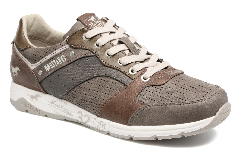 Baskets Mustang shoes Klaus Gris vue détail/paire