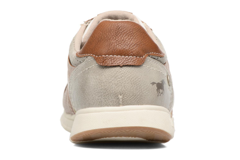 Baskets Mustang shoes Felix Gris vue droite