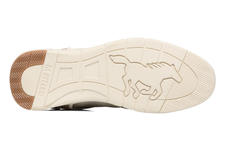 Baskets Mustang shoes Felix Gris vue haut