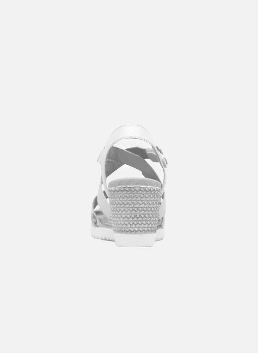 Remonte Nu pieds Offwhite ice Sandales Mona D3452 metallic Et AjLq4Sc35R