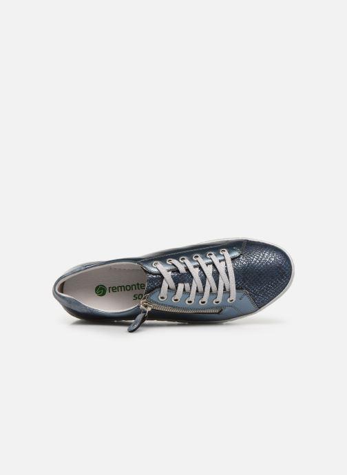 Sneakers Remonte Bago Blauw links