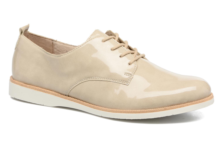 Chaussures à lacets Remonte Malou R0400 Beige vue détail/paire