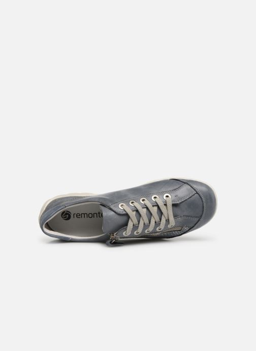 Trainers Remonte Bora R3419 Blue view from the left