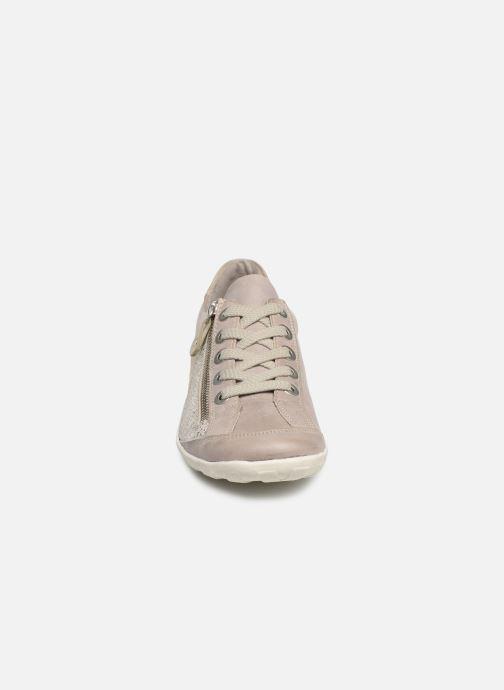 Baskets Remonte Bora R3419 Gris vue portées chaussures