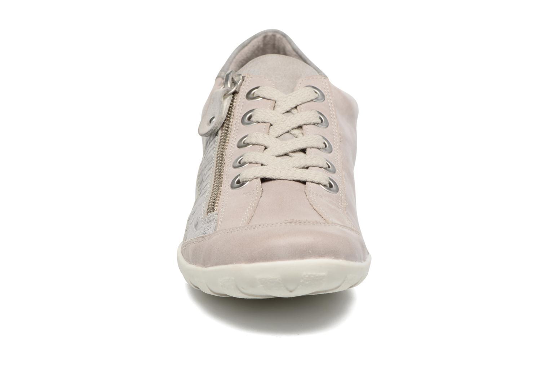 Sneaker Remonte Bora R3419 grau schuhe getragen