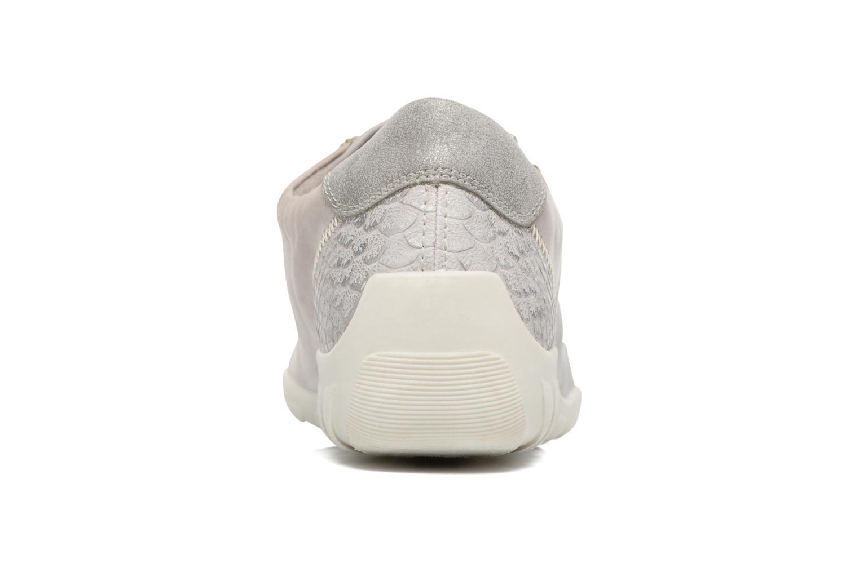 Sneaker Remonte Bora R3419 grau ansicht von rechts