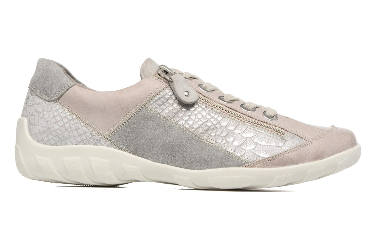 Trainers Remonte Bora R3419 Grey back view