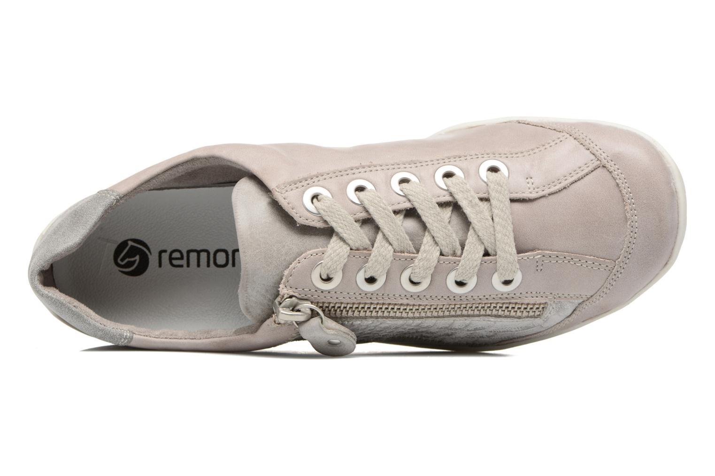 Sneaker Remonte Bora R3419 grau ansicht von links