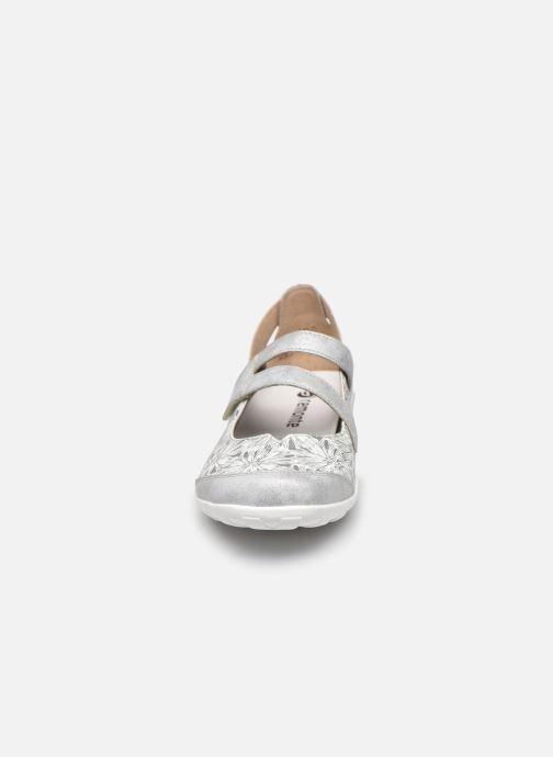Ballerines Remonte Lizi Blanc vue portées chaussures