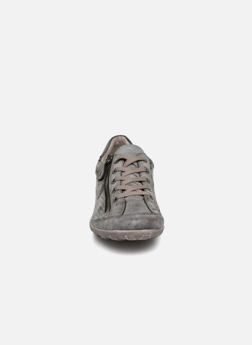 Baskets Remonte Galea R3435 Gris vue portées chaussures