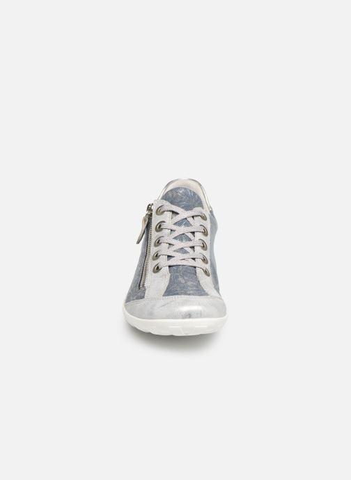 Baskets Remonte Galea II Bleu vue portées chaussures