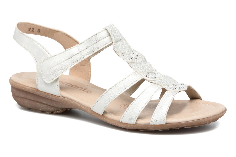 Sandaler Remonte Liloo R3637 Vit detaljerad bild på paret