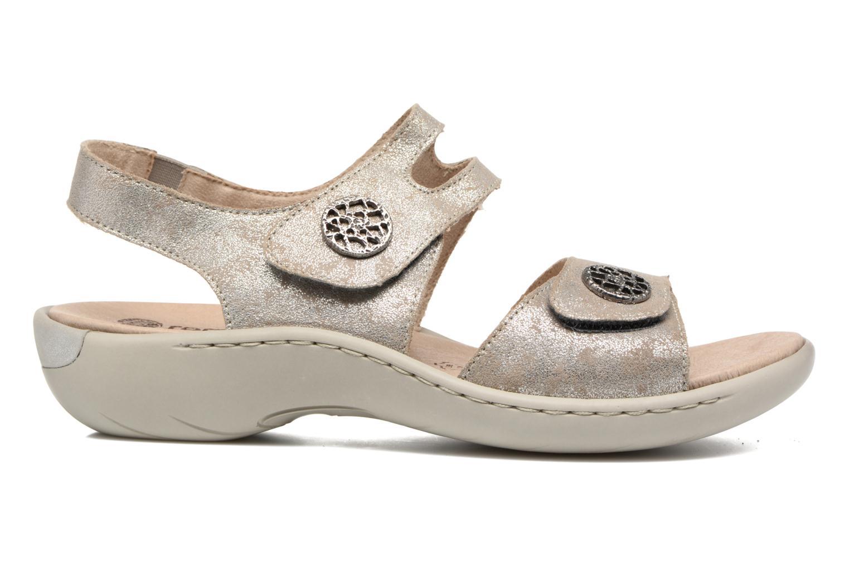 Sandales et nu-pieds Remonte Dalei R8570 Argent vue derrière