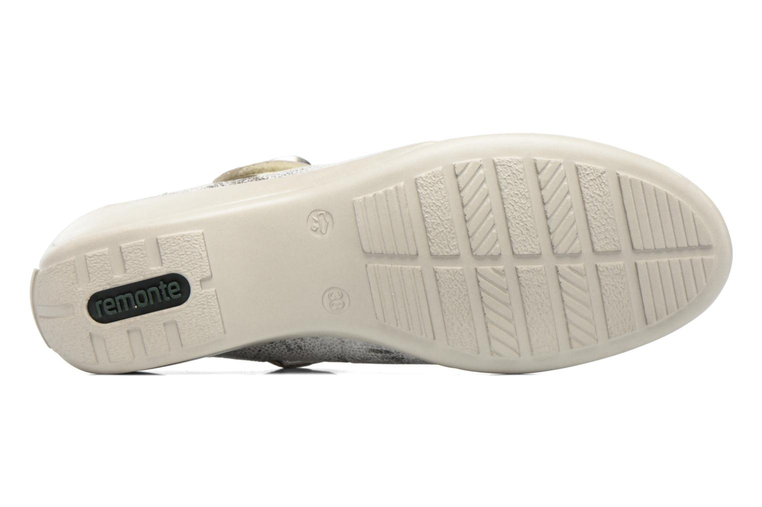 Ballet pumps Remonte Blomi R9840 Silver view from above