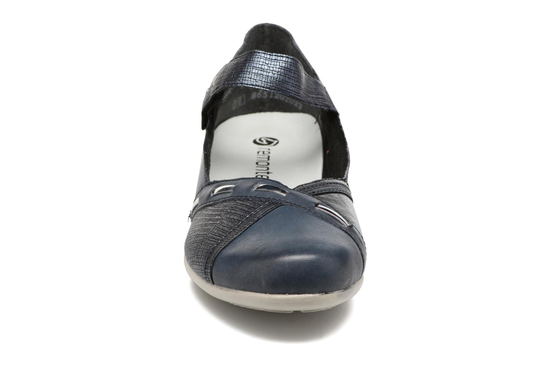 Ballerines Remonte Bonni R9842 Bleu vue portées chaussures