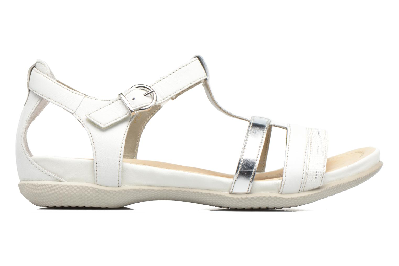 Sandales et nu-pieds Remonte Rena R7451 Blanc vue derrière