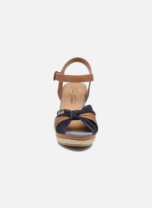 Sandales et nu-pieds Tom Tailor Estepona Bleu vue portées chaussures