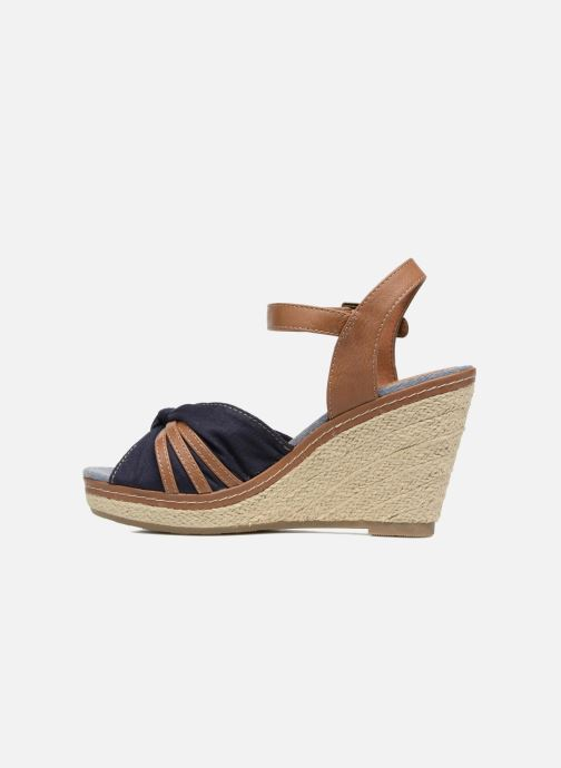 Sandalen Tom Tailor Estepona Blauw voorkant