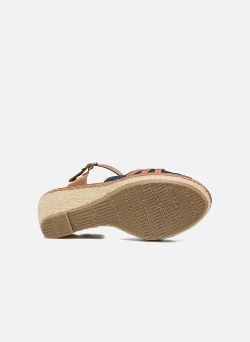 Sandales et nu-pieds Tom Tailor Estepona Bleu vue haut