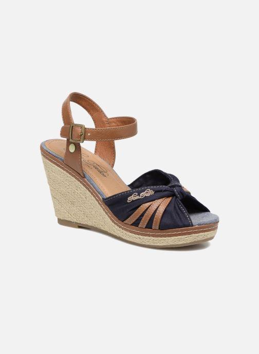 Sandales et nu-pieds Tom Tailor Estepona Bleu vue détail/paire