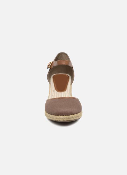 Espadrilles Tom Tailor Prezzano Marron vue portées chaussures