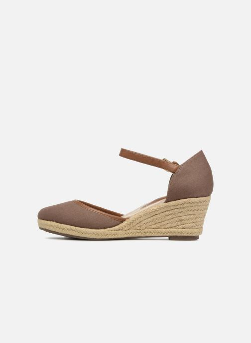 Espadrilles Tom Tailor Prezzano Marron vue face