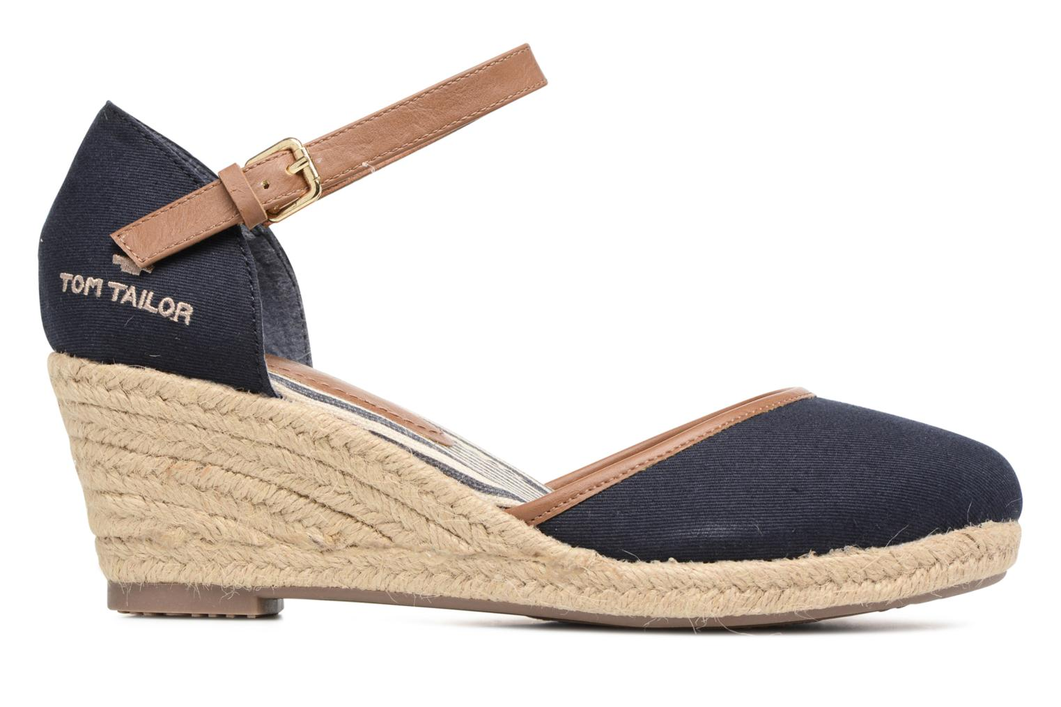 Espadrilles Tom Tailor Prezzano Blue back view