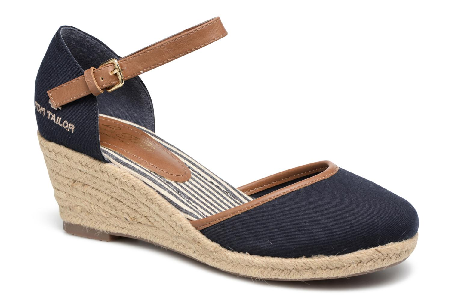 Espadrilles Tom Tailor Prezzano Blue detailed view/ Pair view